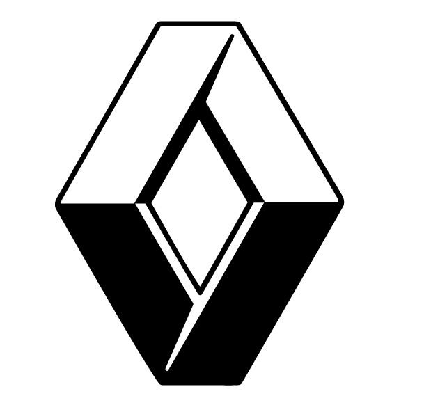 Ist es das Markenzeichen von Renault, Dacia, Lancia, oder Rover?