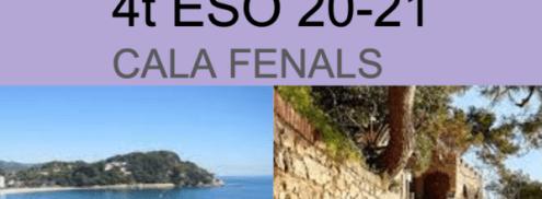 Presentació SORTIDA 4t ESO – CALA FENALS