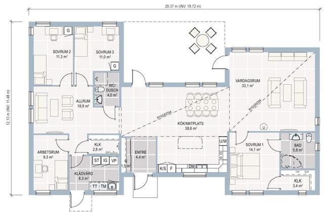 Plan de maison plain pied gratuit a telecharger fe46 for Plan maison ossature bois plain pied