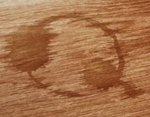 Das Furnier - Unbehandelte Holzoberfläche