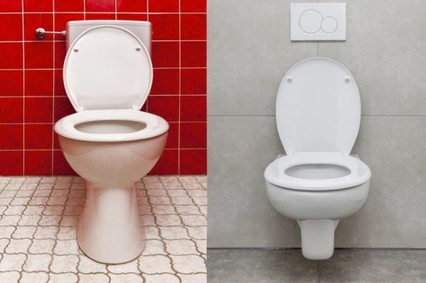WC vorher nachher