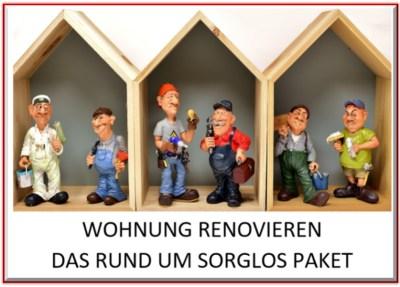 Wohnung renovieren - Das rund um sorglos Paket