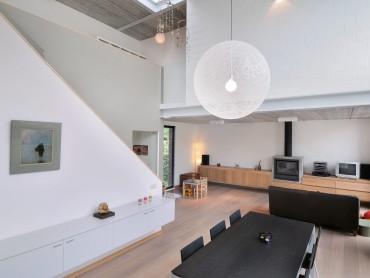 Planx Interieur Leefruimte met vide