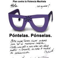 Gafas violetas