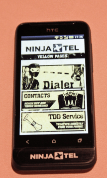 Ninja Phone Apps - Photo by Dan Goodin http://arstechnica.com/author/dan-goodin/