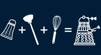 All you need is a whisk, a plunger, and pepper shaker and you too could have a Dalek