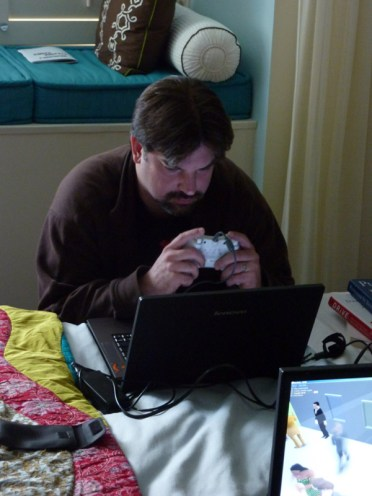 Mike Mika testing games