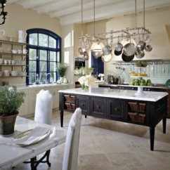 Kitchen Pot Racks Coffee Rugs Planning And Design To Be Frank Are Most At Home In More Rustic Settings However One Of The Major Issues With Those Kitchens Is Usual Lack Upper Cabinets