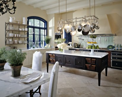 kitchen pot racks breakfast bar planning and design to be frank are most at home in more rustic settings however one of the major issues with those kitchens is usual lack upper cabinets