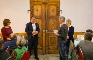 Moderation bei der Regionalkonferenz des Schönburger Landes