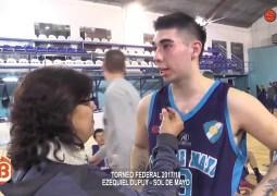 """""""Este es el basquet que queremos hacer """"Ezequiel Dupuy"""