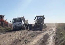 Para garantizar la transitabilidad: Mantenimientos de Caminos Patagones