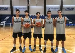 Selección  U16 confirmó su plantel para el FIBA Américas