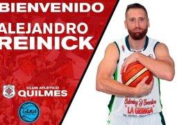 Eseverri y Reinick completan el plantel de Quilmes