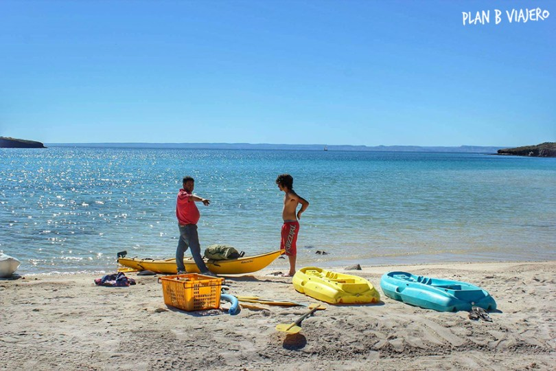 plan b viajero , playa pichilingue, la paz baja california sur