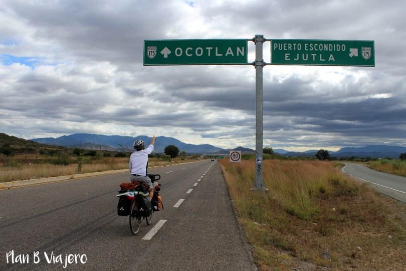 Plan B Viajero viajar en bici por Oaxaca