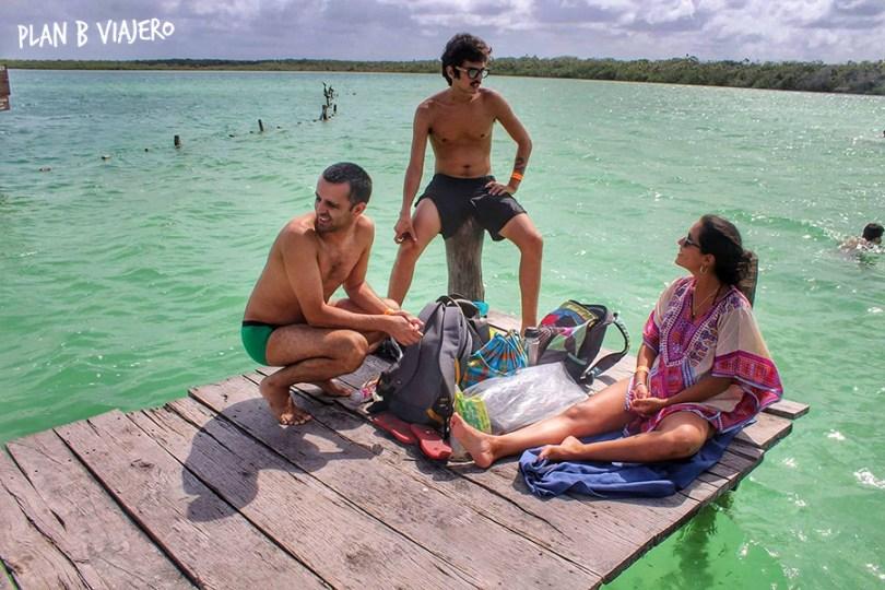 plan b viajero, laguna kaan luum riviera maya