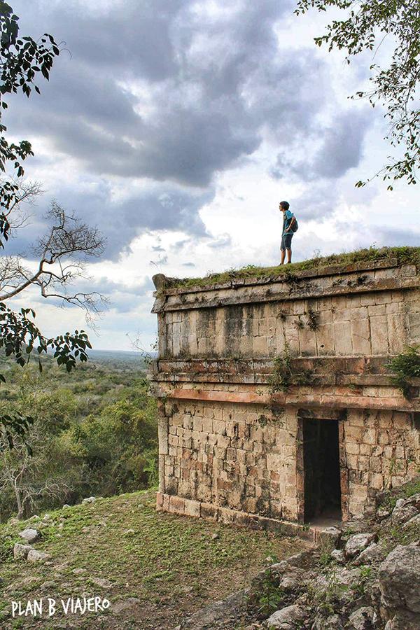 plan b viajero , Península de Yucatán en bici , Chacmultún Ruta Puuc