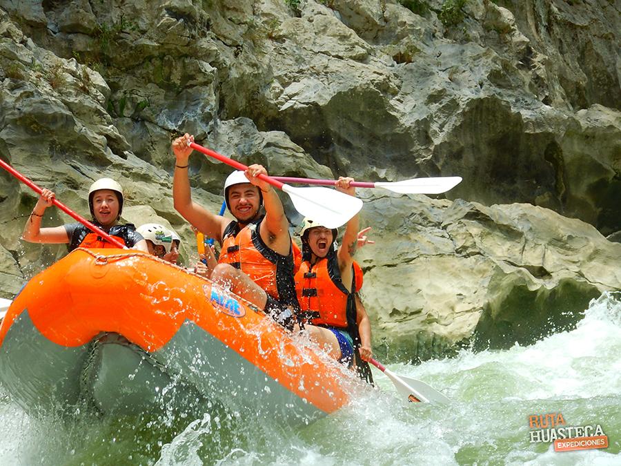 plan b viajero, rafting mexico, rio tampaon