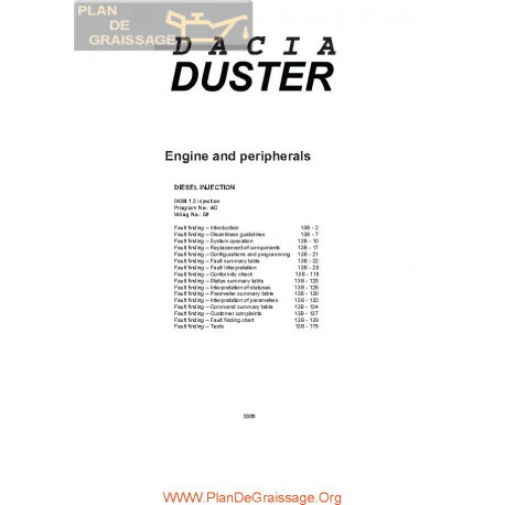 Dacia Duster Dcm 1200 Full System Workshop Manual P1