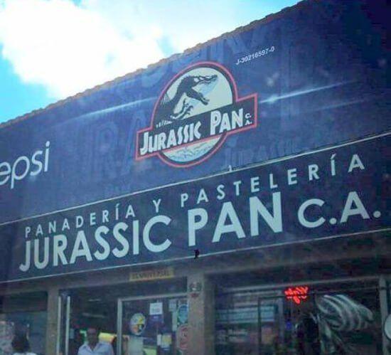Panadería cuello de botella Jurassic Pan