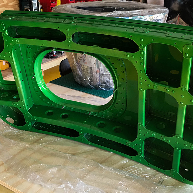 Airbus A320 Overwing Escape Door In Green