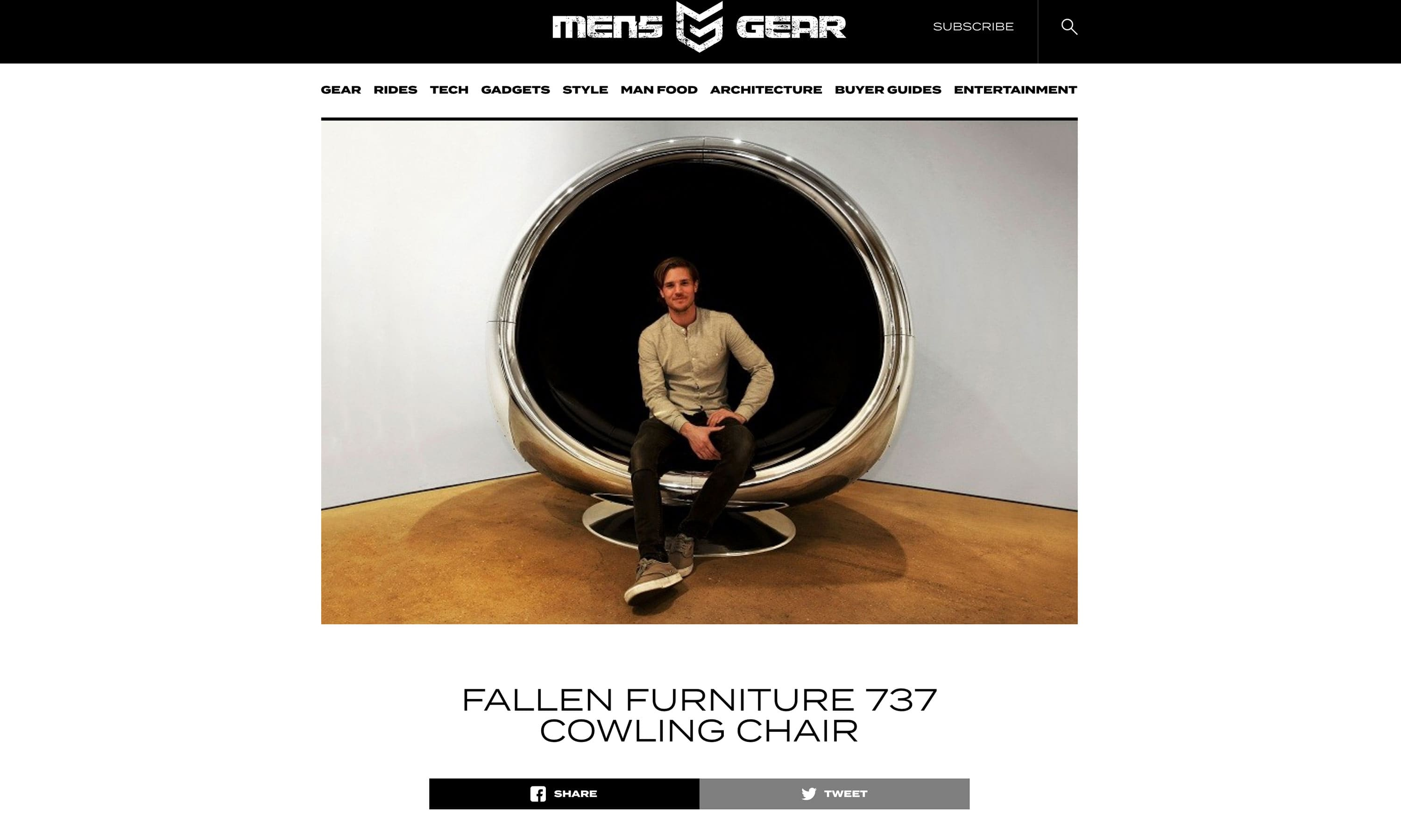 Mens Gear Press Article Plane Industries