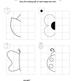 Worksheets Of Symmetry   Printable Worksheets and Activities for Teachers [ 2560 x 1978 Pixel ]