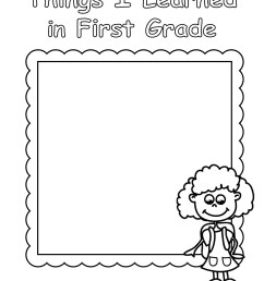 End of Year - Worksheet - First grade Review for Girl   Planerium [ 2560 x 1978 Pixel ]