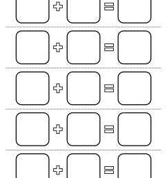 All Seasons - Worksheet - Numbers Addition Template   Planerium [ 3000 x 2250 Pixel ]