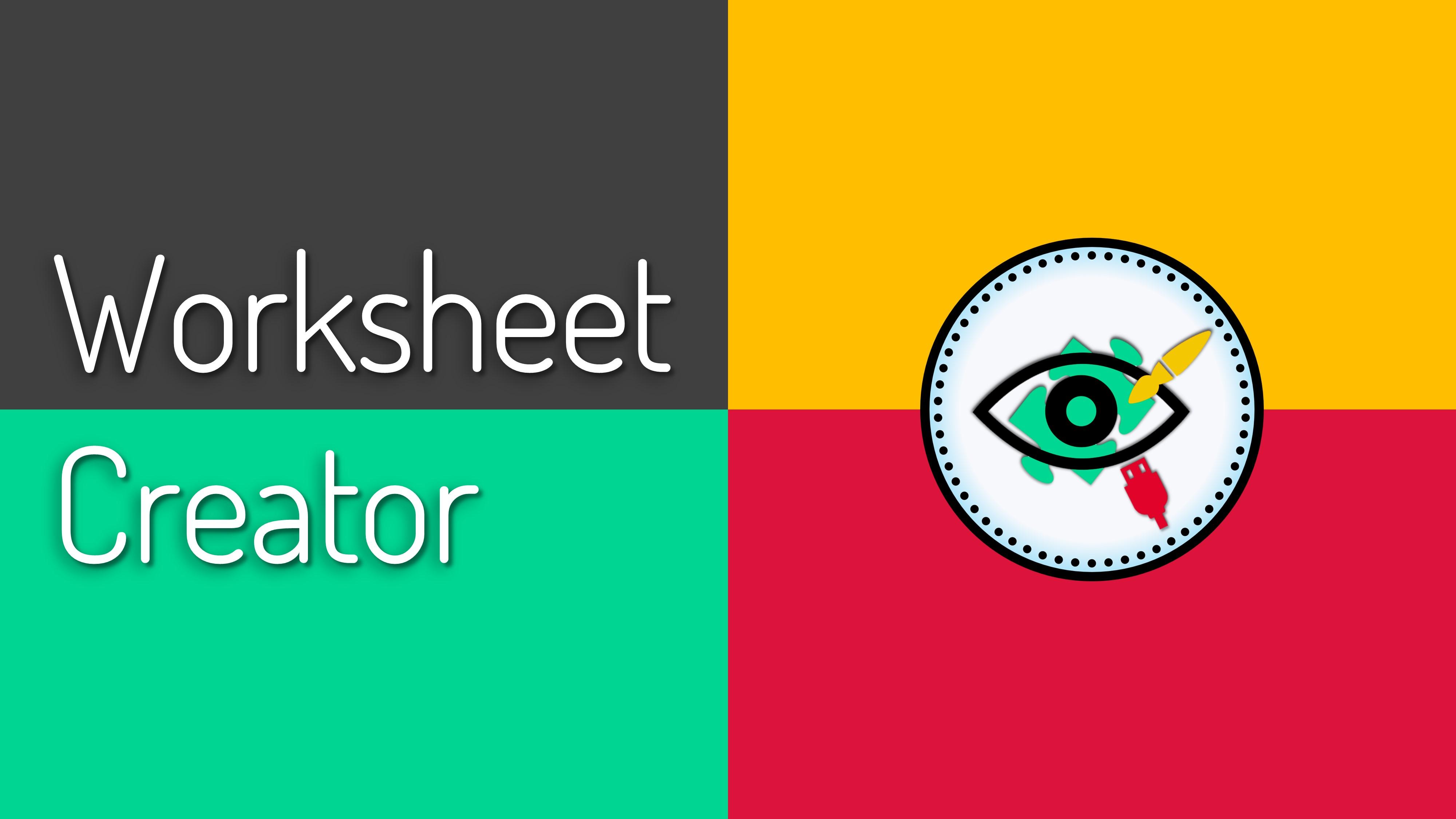 Worksheet Creator