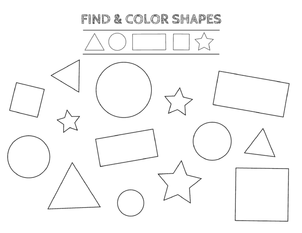 Identify Colors Worksheet