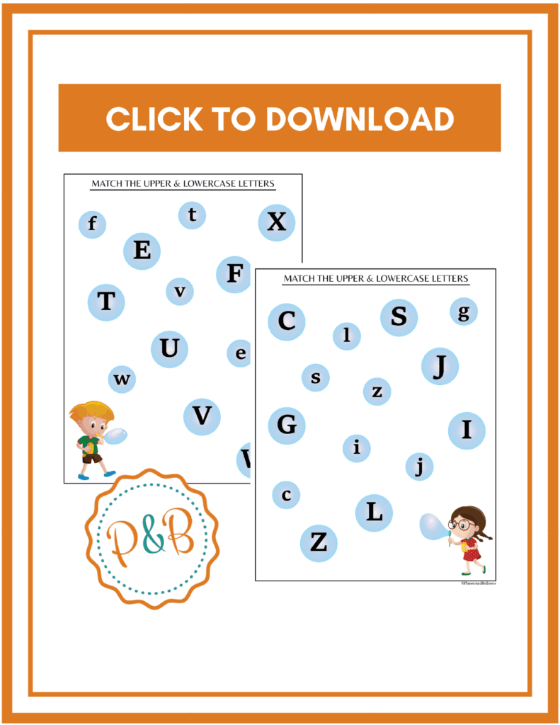 Alphabet Worksheets Free Printable: Tracing & Matching Letters