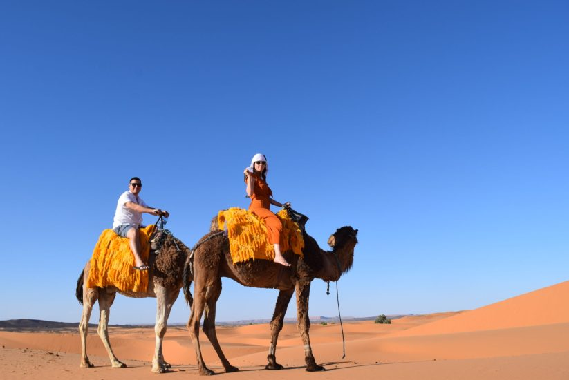 Glamping in the Sahara Desert - Planes, Trains and Champagne