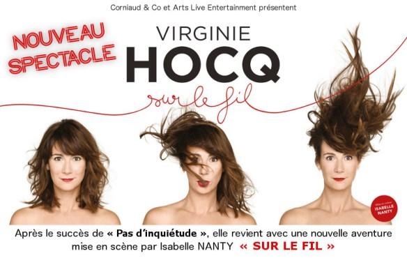 """Virginie HOCQ """" Sur le Fil """" - Nouveau Spectacle"""