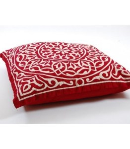 www.planet-craft.com-egyptian-floor-cushion---dark-red-&-white-30