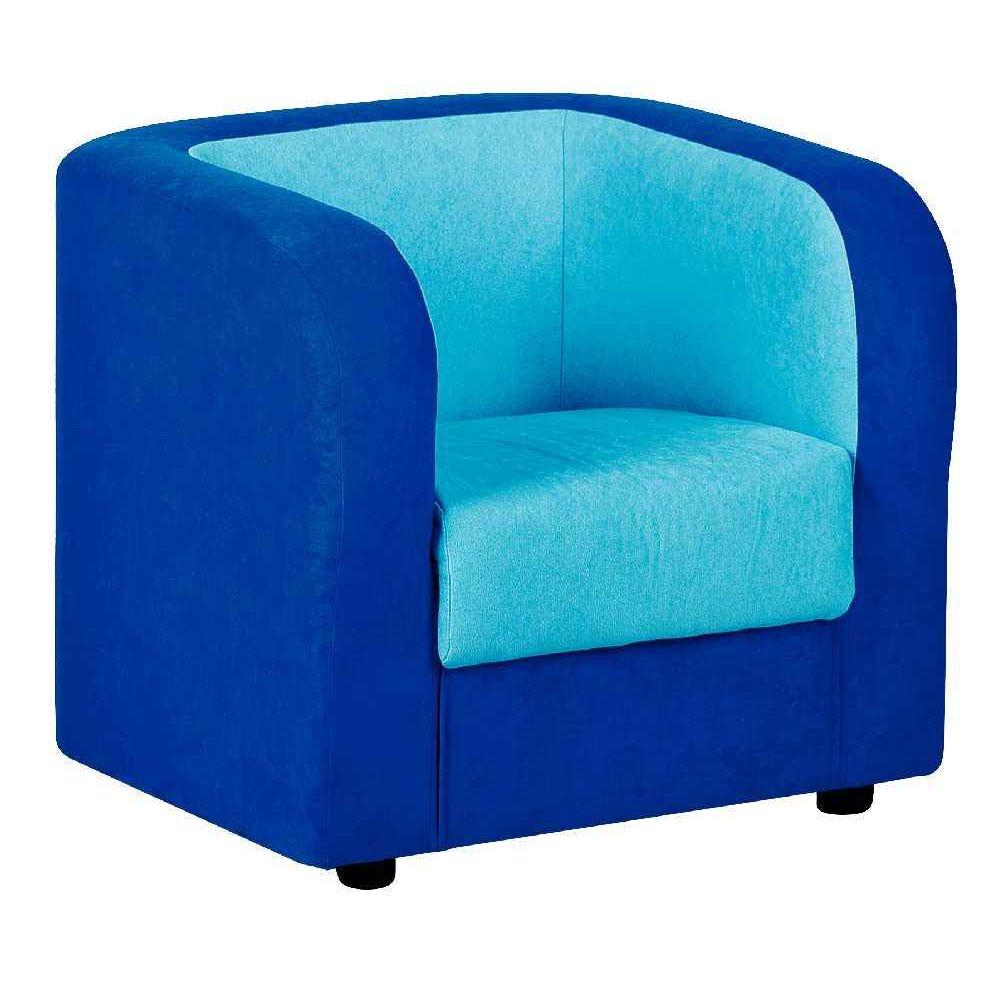 Fauteuil Bleu Turquoise Maison Design