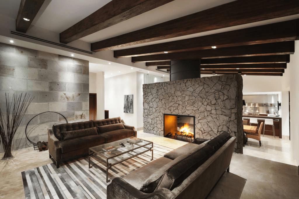 Moderne Wohnzimmer Contration Wohnideen Design
