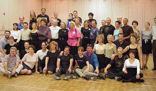 A GROUP PHOTO OF ONE OF THE CLASSES