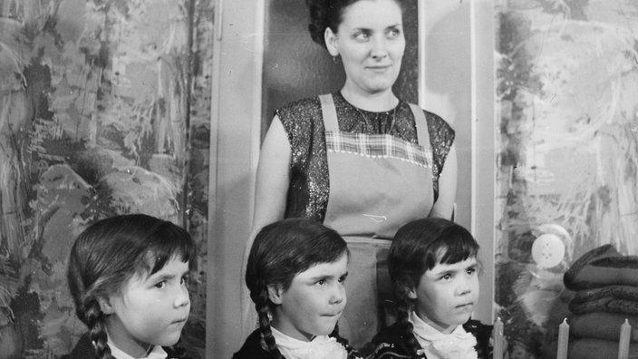 Familienfotos Schwarz Weiss