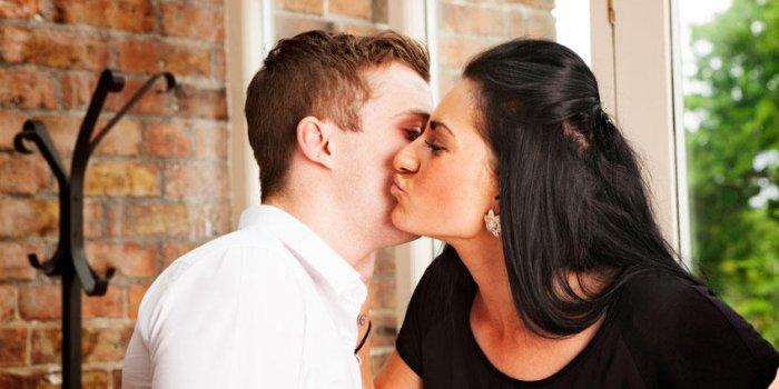 pourquoi s embrasse t on sur les joues