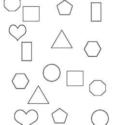 2D Shapes - 1st [ 1500 x 1200 Pixel ]