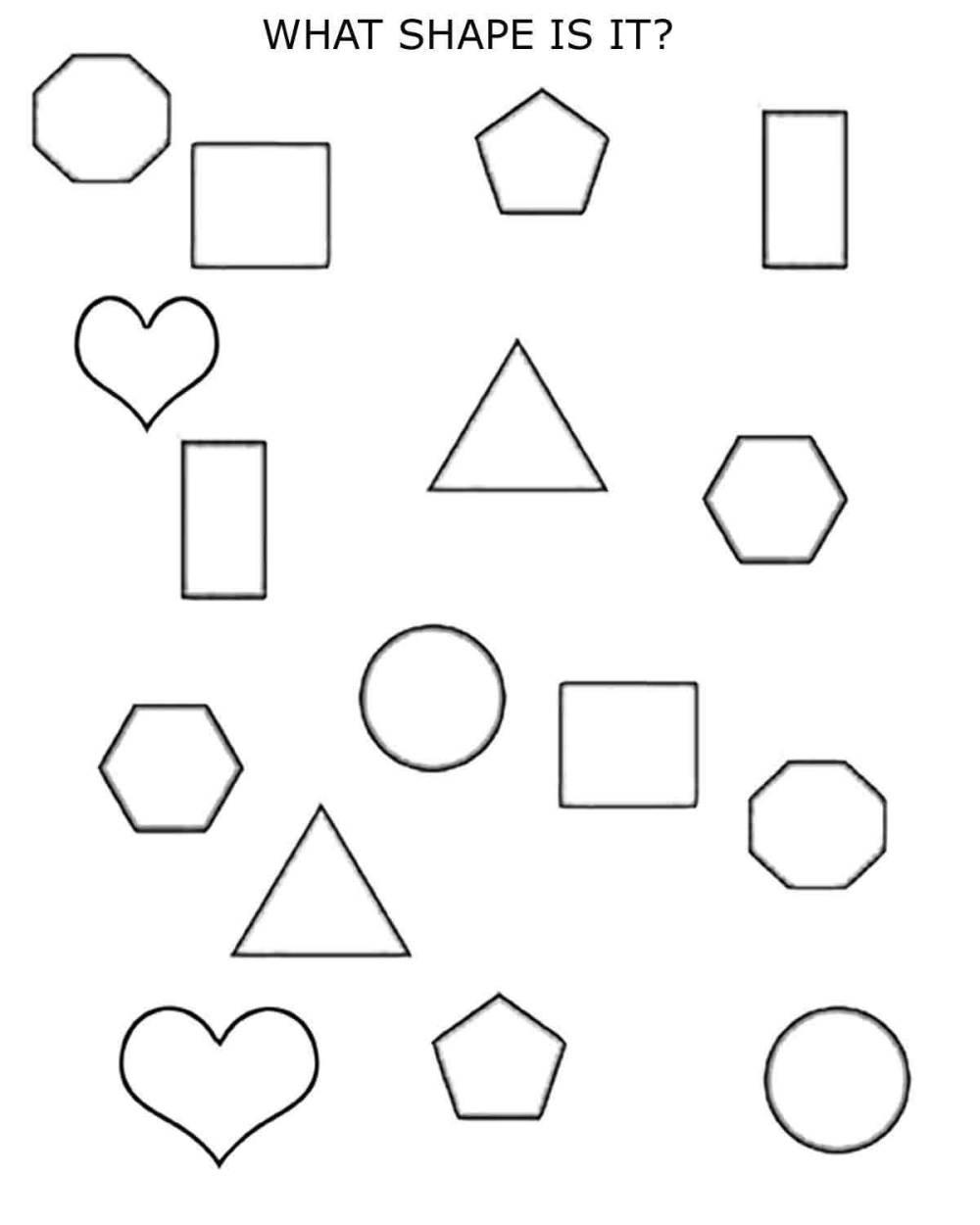 medium resolution of 2D Shapes - 1st