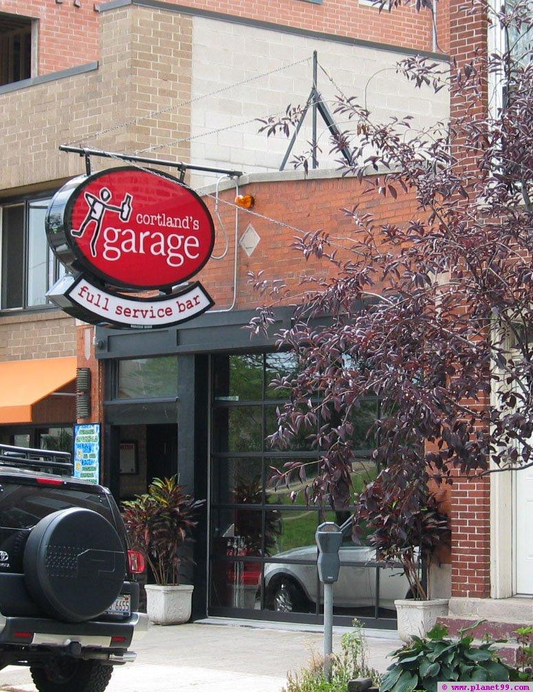 Chicago  Cortland Garage with photo via Planet99