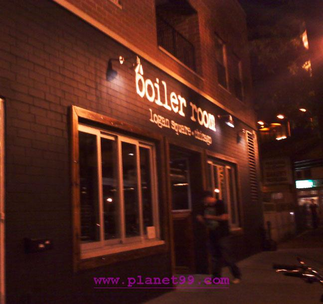 Chicago  Boiler Room with photo via Planet99