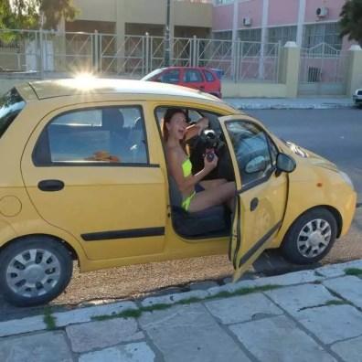 Náš půjčený Chevrolet Matiz