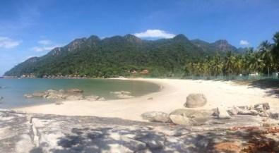 Pláž na Langkawi
