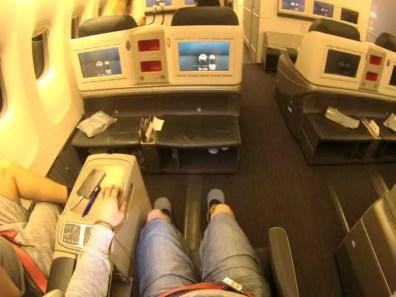 Vzdušnost byla pro mě v letadle novinkou