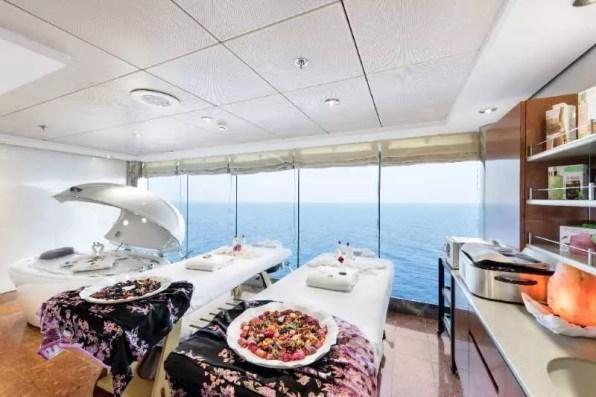 Masážní salon na lodi MSC Opera
