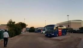 Autobusové nádraží na letišti Olbia